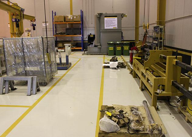 应用实例 – 环氧地坪面漆
